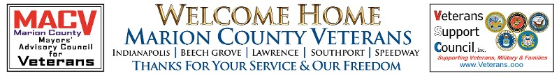 MACV & VSC Welcome Home Marion County Veterans