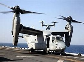 Marines Osprey Helicopter