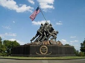 Marine Corps WWII Memorial in Washington D.C.